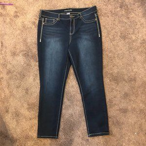 Maurices Skinny Jeans Jeggings Dark Wash 20S